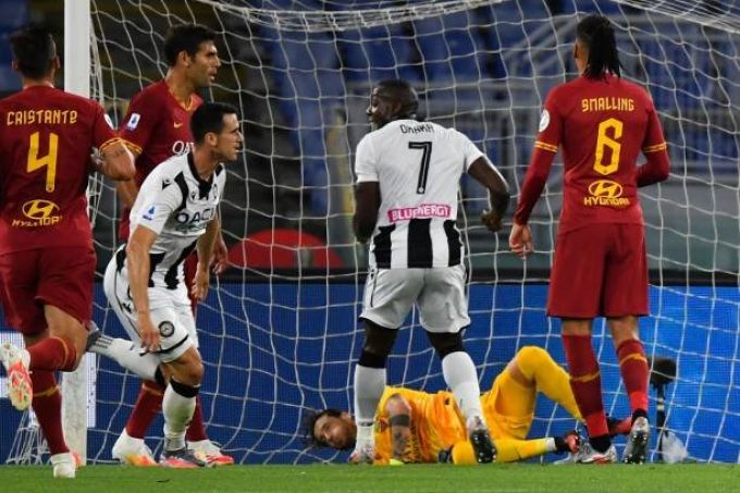 Roma-Udinese 0-2, Le Pagelle dei Quotidiani