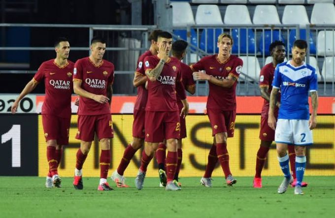 Brescia-Roma 0-3, Le Pagelle dei Quotidiani