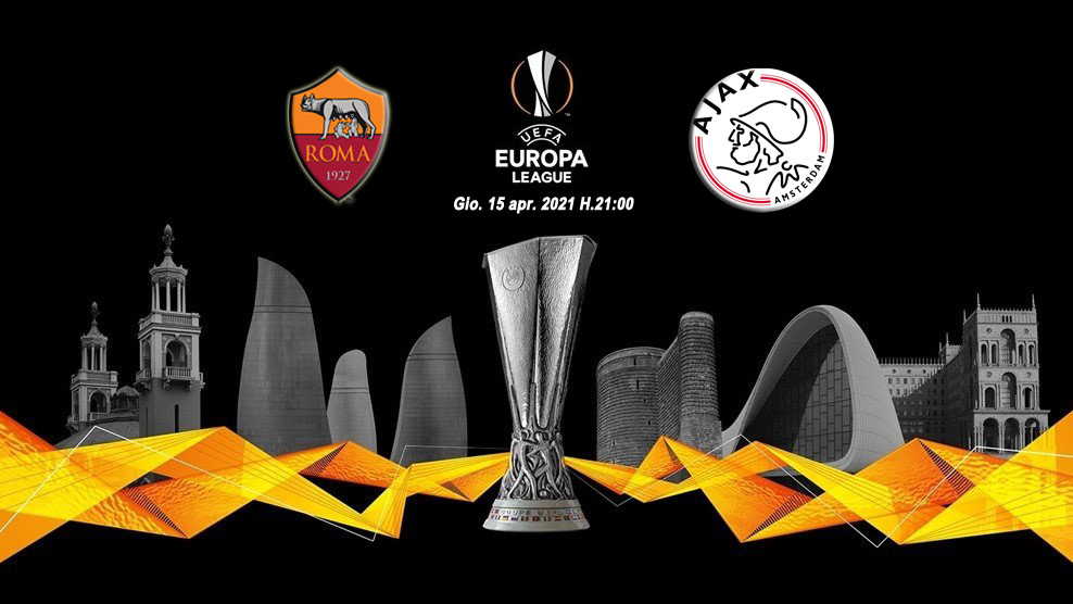 Roma-Ajax, Diretta tv e  Streaming