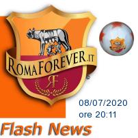ROMA-PARMA,  giallorossi in campo con una patch per Ennio Morricone